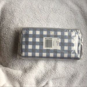kate spade new york gingham wallet NEW in package